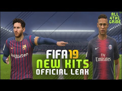 FIFA 19 NEW HOME KITS | Real Madrid – Barcelona – FC Bayern – Liverpool & more | FIFA 18 Mod