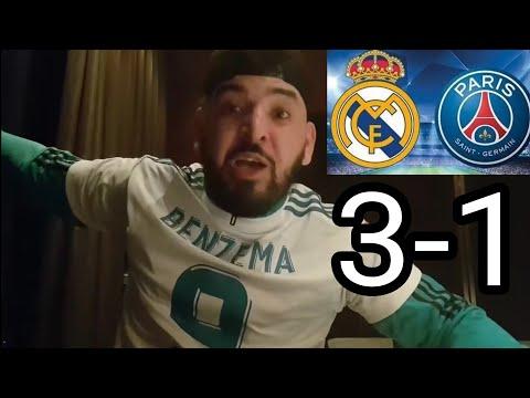 RÉAL MADRID VS PSG 3-1 DEBRIEF LE PSG EST ÉLIMINÉ