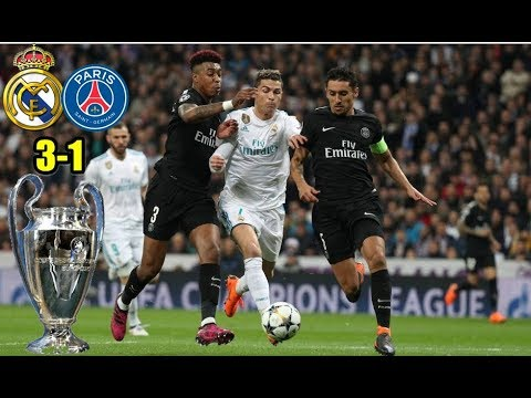 Real Madrid vs PSG 3-1 14/02/2018 Mi resumen del partido.