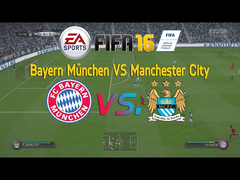 FIFA 16 Gameplay – FC Bayern München VS Manchester City FULL GAMEPLAY HD FIFA 16 (PS4/Xbox One)