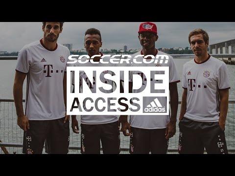 Bayern Munich Stars Reveal 2016/17 adidas Third Jersey