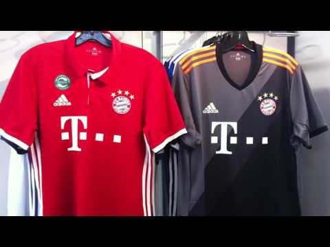 FC Bayern Munich 2016/17 Jersey by Adidas at NAS Vancouver 604-299-1721