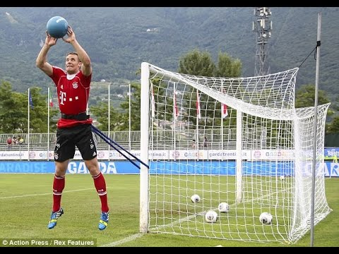 Goalkeeper training – Manuel Neuer training (  Bayern Munich and the German national team)
