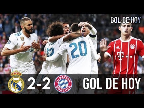 Real Madrid 2 Bayern Munich 2 I Real Madrid vs Bayern 2-2