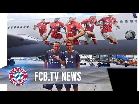 FC Bayern startet US Tour | #AudiFCBTour