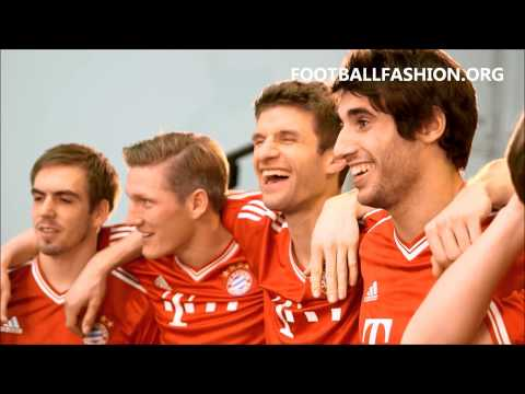 FC Bayern Munich 2013/14 adidas Home Kit