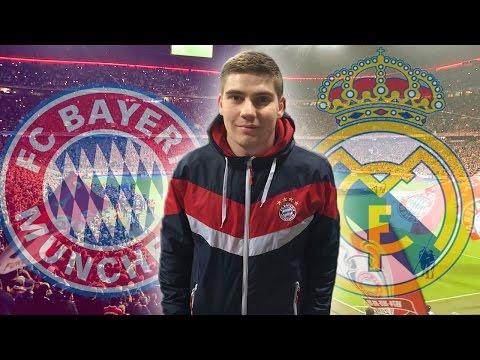 #NiemalsAufgeben | FC Bayern München vs Real Madrid | StadionVlog
