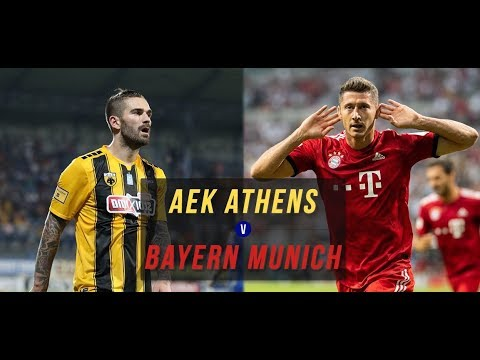 AEK Athens VS Bayern Munich 0 2 All Goals & Highlights 2018
