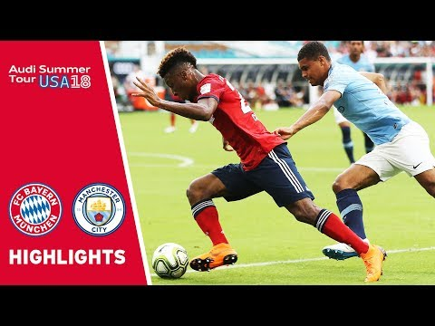 FC Bayern vs. Manchester City 2-3 | Highlights | International Champions Cup