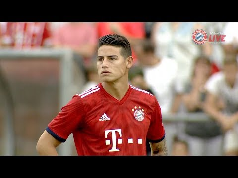 JAMES RODRIGUEZ vs FC ROTTACH-EGERN (Away) – HD 08/08/2018