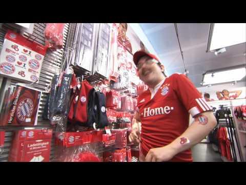 Frerk Ohm im FC Bayern Fanshop!