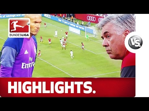 Ancelotti vs. Zidane – Bayern vs. Real Madrid in New Jersey