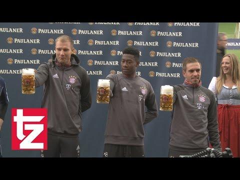 Maßkrugstemmen beim FC Bayern: Dieser Profi hält am längsten durch