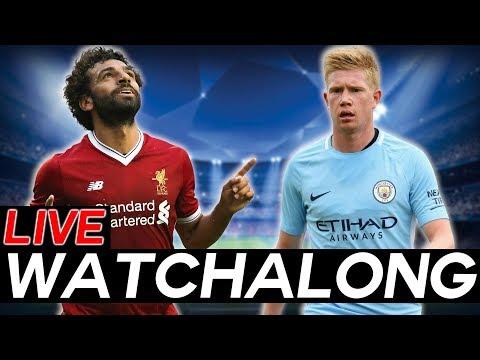 LIVERPOOL vs MANCHESTER CITY Champions League Quarter-Finals Leg 1 Live WATCHALONG Stream
