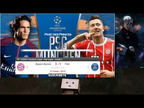 Bayern Münich vs PSG live