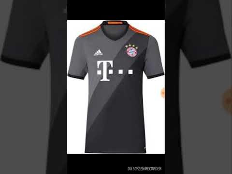 Bayern shirts 2016/17