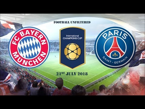 Bayern Munich vs. Paris Saint-Germain: International Champions Cup LIVE