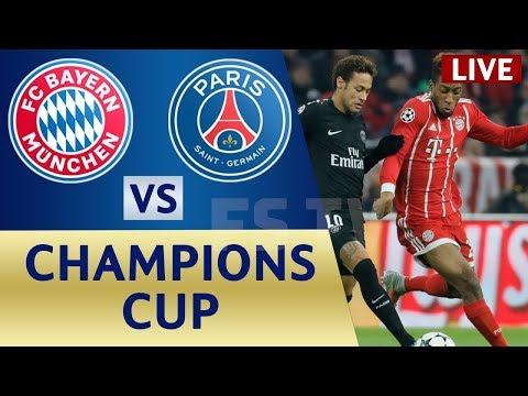 Bayern Munich vs PSG FULL MATCH  21/07/2018 HD