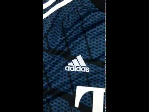 New 14 15 FC Bayern Munich goalkeeper blue cheap soccer jersey details