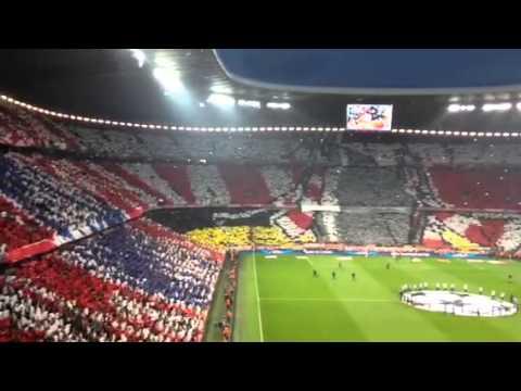 Fanvideo: FC Bayern vs. Real Madrid – Choreografie in der Allianz Arena