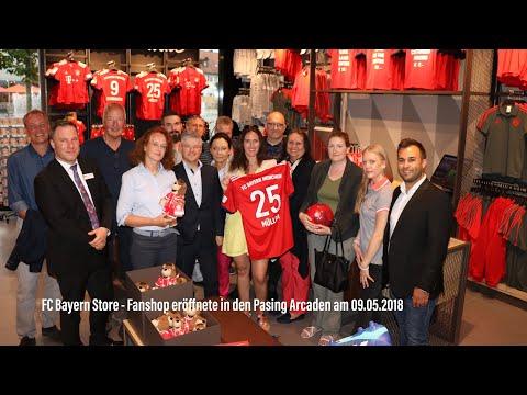 FC Bayern Store – Fanshop eröffnete in den Pasing Arcaden am 09.05.2018