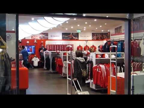 FC Bayern Munich Fan Shop @ Munich Airport (MUC) HD