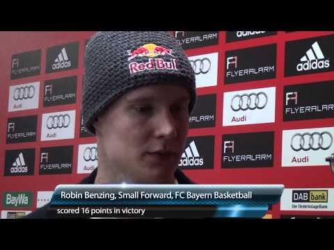 Beko BBL: FC Bayern Basketball vs. EWE Baskets Oldenburg January 14, 2012 Postgame