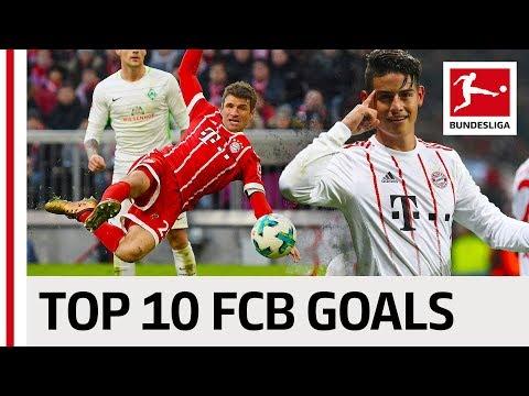 FC Bayern München Best Goals Season 2017/18 – James, Lewandowski & More