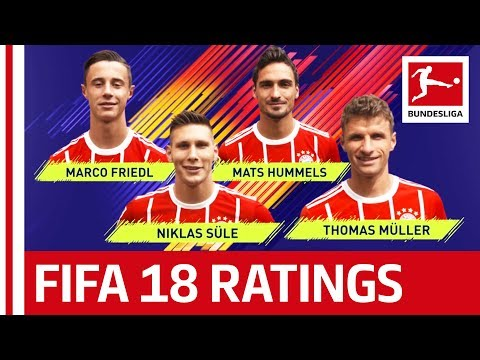 EA SPORTS FIFA 18 – FC Bayern München Players Rate Each Other: Müller, Hummels & More