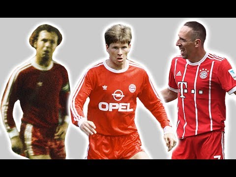 Bayern Munich's Football Kit History/Evolution | Then And Now