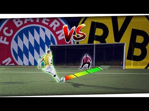 Ultimative BAYERN MÜNCHEN vs BORUSSIA DORTMUND DFB-Pokal Challenge!🔥⚽ + TICKETS Gewinnspiel PMTV