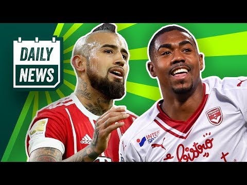 Transfer News: Vidal zu Inter, Witsel zum BVB, Martial zu FC Bayern? Barcelona vs AS Rom! Daily News