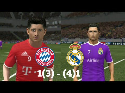 Real Madrid vs Bayern Munich – Dream league soccer 2017 – android gameplay #095