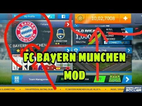 Dream league soccer 2017 fc Bayern mod
