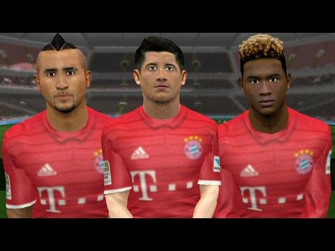 Plantilla Del FC Bayern Munich 2016-17   Caras & Faces Dream League Soccer  .