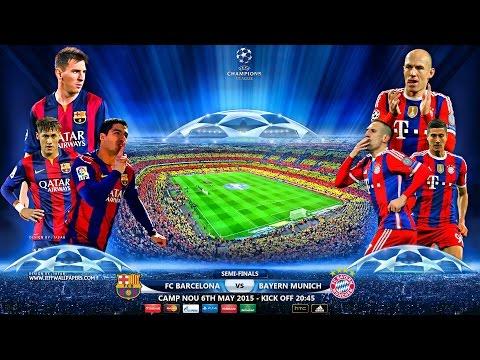 Dream league soccer Fc barcelona vs Bayern munich