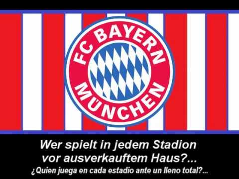 Hymne Bayern München – Himno de Bayern Munich