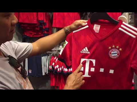 Mega Store FC Bayern Munchen@ Allianz Arena Munchen 2018