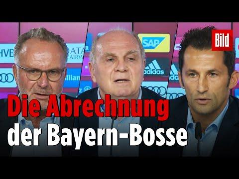 General-Abrechnung mit Medienvertretern | FC Bayern München Pressekonferenz 20. Oktober