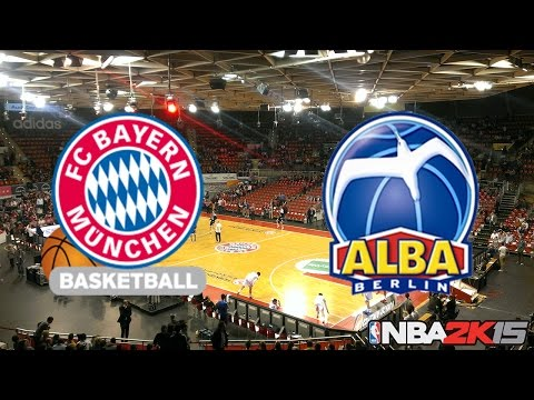 NBA 2K15 PC Gameplay » FC Bayern Basketball Vs Alba Berlin « Deutsch German | Full-HD