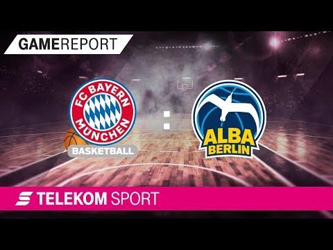 FC Bayern München – ALBA Berlin | Finale 5. Spieltag 17/18 | Telekom Sport
