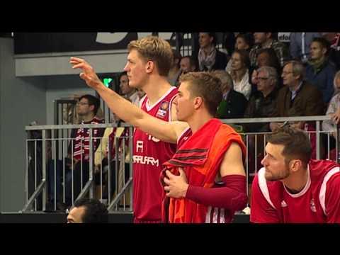 Best of Playoff-Viertelfinale Spiel 3: FC Bayern München – ALBA BERLIN 89:83