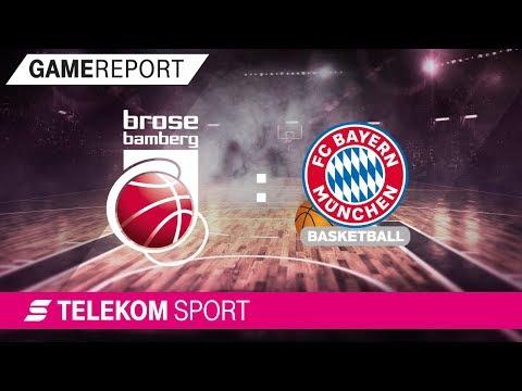 Brose Bamberg – FC Bayern Basketball | Halbfinale, Spiel 4, 17/18 | Telekom Sport