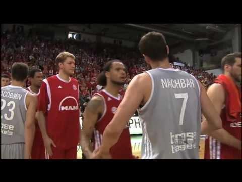 Playoff-Halbfinale Spiel 5: Brose Baskets –  FC Bayern München 85:66