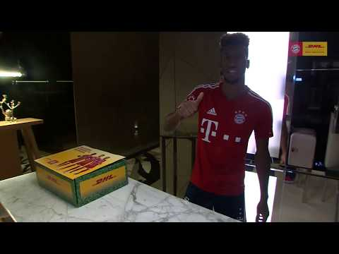 Win A DHL Surprise Package Sent To You By The FC Bayern Players