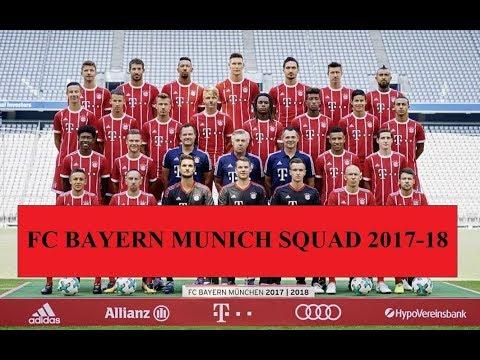 FC Bayern Munich Squad First Team 2017-18 ||HD|| (Official)