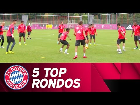 FC Bayern 5 Top Rondos – September | 2016/17 Season
