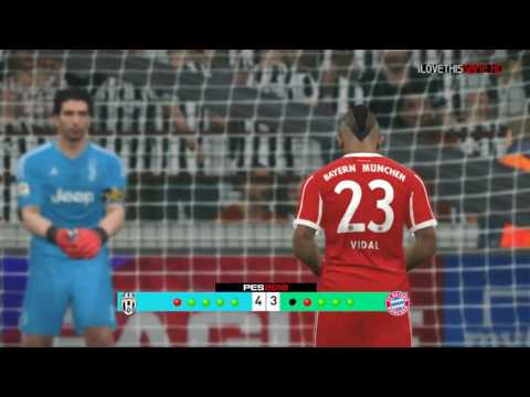 Juventus vs Bayern Munchen – Penalty Shootout [New Kits 2017/18]