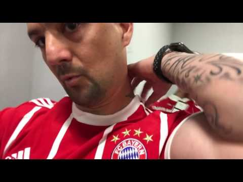 UNBOXING NEW JERSEY BAYERN MUNICH 2017-2018 ADIDAS STIRR CHAMPS ELYSEES PARIS DGKALLDAY ROBBEN