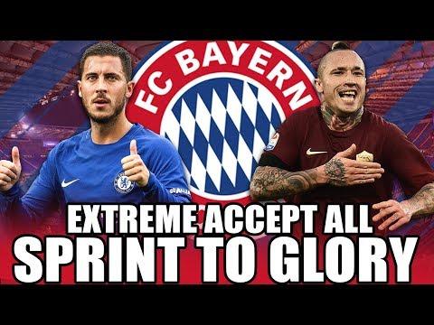 ALLES ANNEHMEN UND CL GEWINNEN !! 😱🏆 | FIFA 18: FC BAYERN ACCEPT ALL SPRINT TO GLORY KARRIERE